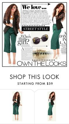 """""""OWNTHELOOKS.1"""" by samirhabul ❤ liked on Polyvore featuring Zara and ownthelooks"""