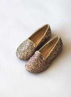 Manuela de Juan Sparkle Chachou Slip On Shoes - 11 Main