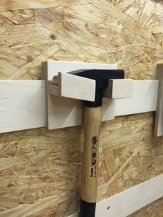 An der Wand wo ich die wichtigsten Handwerkzeuge aufhänge, war aufgrund dessen das sich immer mehr ansammelt, ein kleines Durcheinander. ...