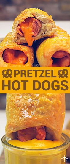 Make Auntie Anne's Cheddar Pretzel Dog Right at Home