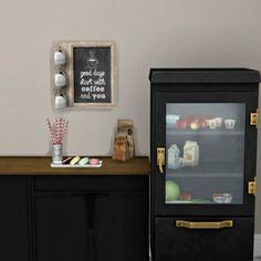 Leo 4 Sims: Coffee Deco • Sims 4 Downloads