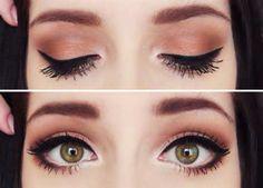 Perfect natural edgy look!  #edgymakeup #naturalmakeup #eyeliner #eyemakeup