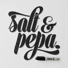 push it…  #real #good #lettering #handlettering #graphicdesign