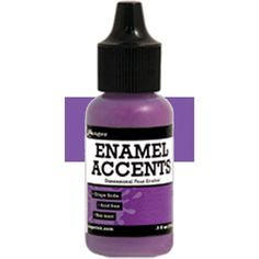 Ranger Enamel Accents Dimensional GRAPE by SeptemberPlayground