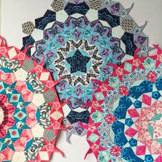 Flossie Teacakes: Cogwheels multi-shape quilt block