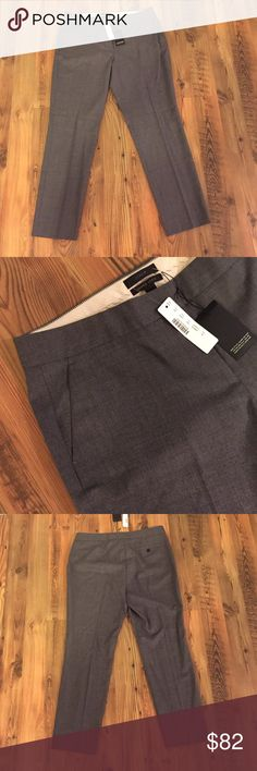 NWT - J Crew Super 120s Paley suiting pant Never worn Super 120s suiting from J Crew! Adorable Paley pant features straight, cropped silhouette to show off your killer shoes. All season wool, buy alone or bundle with the dress/pants/blazer in this closet! J. Crew Pants