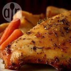 Foto recept: Hele kip uit de slowcooker