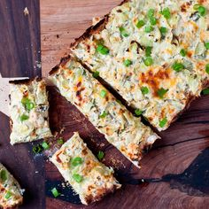 Cheesy Crab & Artichoke Bread by foodiebride, via Flickr