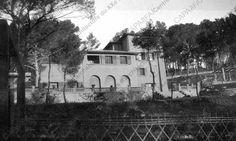 villa Bourboulon, Hyères-Costebelrr (Var)_vue extérieure