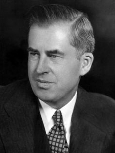 Vice President Henry A. Wallace - Served under President Franklin D. Roosevelt and founded Pioneer Hi-Bred International.