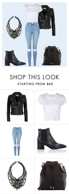 """""""543"""" by mel-ylm ❤ liked on Polyvore featuring IRO, RE/DONE, Topshop, Valentino, Fenton and Proenza Schouler"""