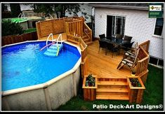 Pool Deck Plans, Patio Plans, My Pool, Swimming Pools Backyard, Lap Pools, Indoor Pools, Backyard Pool Landscaping, Backyard Pool Designs, Best Above Ground Pool
