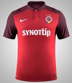 Sparta Prague 2015-16 Nike Home Kit