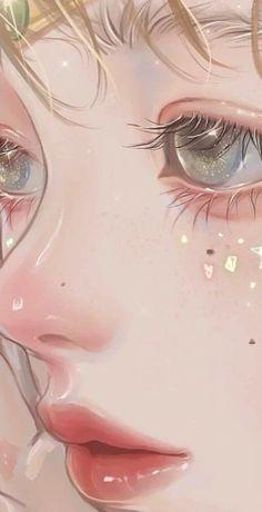 Anime Art, Anime Scenery Wallpaper, Girls Cartoon Art, Art Hoe Aesthetic, Realistic Art, Digital Art Illustration, Pretty Art, Cute Animal Drawings Kawaii, Cartoon Art