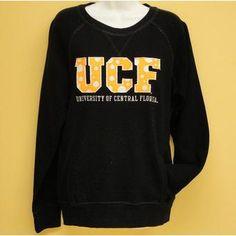 UCF Yellow Ploka Dot Sweater @ Gray's College Bookstore