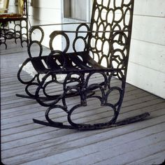 horseshoe rocking chair...love it..want it!!