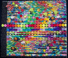 Double Fishion Art Quilt by Louisa L. Smith - Quilt Escapes