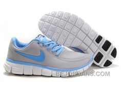 http://www.bejordans.com/60off-big-discount-womens-nike-free-50-v4-shoes-grey-skyblue.html FREE SHIPPING! 60%-70% OFF! WOMENS NIKE 5.0 V4 SHOES GREY SKY-BLUE Only $84.00 , Free Shipping!