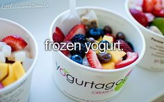 Probably the best thing on earth, except One Direction and The Hunger Games!   I should go to a froyo place with One Direction and watch The HG! That would be ahmazing! lol