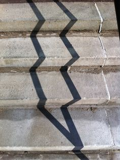 Handrail Shadows and Stairs II