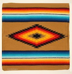 Colorful Pillow Cover Southwestern Lodge or Home Decor San Carlos Plaid Throw Pillows, Aztec Pillows, Colorful Pillows, Throw Pillow Cases, Throw Rugs, Southwest Home Decor, Southwestern Style, Cushion Covers, Pillow Covers