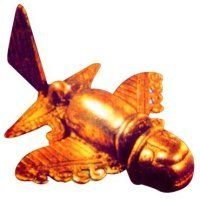 The mechanical features of the object suggest a highly sophisticated level of aerodynamics and construction. The objects are very old and small, approximately 2 inches long, objects, made of gold are estimated to be AT LEAST 1,000 years old. For archaeologists the artifacts were depicting animals and were classified as Sinu, a pre-Inca culture from A.D. 500 to 800