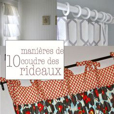 rideaux 10 10 façons de confectionner des rideaux