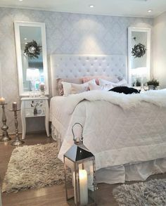 Love The Tuft Bed Nd Neutral Colors Used Home Decor Bedroom, Bedroom  Interiors, Bedroom