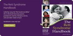 International Rett Syndrome Foundation is helping to raise awareness and seeking a cure to this unique developmental disorder that is first recognized in infancy and seen almost always in girls. Rett Syndrome, Recommended Books, Infancy, Almost Always, Book Recommendations, Disorders, The Book, The Cure, Foundation