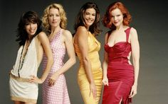 Lovely ladies of Wisteria lane, please don't go away. Not ready for the goodbyes, yet.