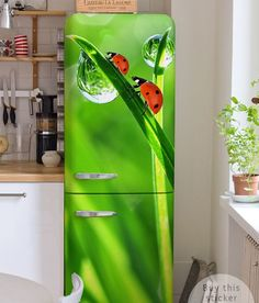 ■ Sticker on the fridge  - inspiration , interiors gallery• PIXERSIZE.com