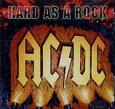 """For Sale - AC/DC Hard As A Rock - Jewel Case + Poster UK  CD single (CD5 / 5"""") - See this and 250,000 other rare & vintage vinyl records, singles, LPs & CDs at http://eil.com"""