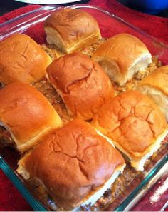 These are the best party sandwich on the planet. Seriously. I created this recipe based on some things I had in the pantry and fridge, and my husband and MIL gobbled them up after church. They wished I had made a double batch! I made this out of necessity. We had some Hawaiian rolls we …