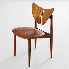 "Kurt Østervig ""26"" Brande Møbelfabrik, Denmark, 1960's Scandinavian Chairs, Denmark, Modern Design, Furniture Design, Dining Chairs, Post Modern, Danish, Home Decor, Danish Design"