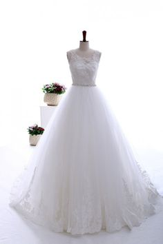 Classic fine beaded lace wedding gown.only $397.00. love it.