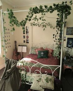 Room Design Bedroom, Room Ideas Bedroom, Home Bedroom, Bedroom Decor, Forest Bedroom, Bedrooms, Bedroom Inspo, Dream Rooms, Dream Bedroom