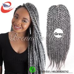 Best human braiding hair bulk! havana twist crochet braids 24'' gray crochet twist hair extensions synthetic braiding hair //Price: $US $5.00 & FREE Shipping //   http://humanhairemporium.com/products/best-human-braiding-hair-bulk-havana-twist-crochet-braids-24-gray-crochet-twist-hair-extensions-synthetic-braiding-hair/  #human_hair