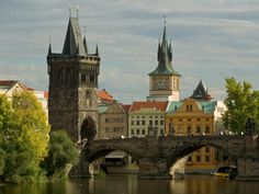 Charles Bridge and Old Town Bridge Tower, Prague, Czech Republic Photographic Print by David Barnes at AllPosters.com