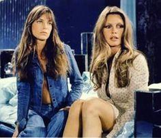 Jane Birkin and Brigitte Bardot // Patrizia Conde