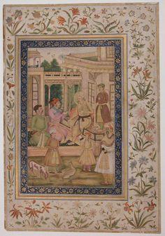 Akbar Visited by Jahangir and Daniyal