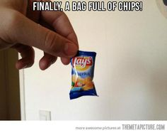 If chips came without air…