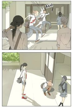 Manga Their Story - Tamen De Gushi   Capítulo 13 Página 4