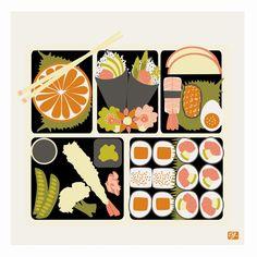 Bento Graphic Art
