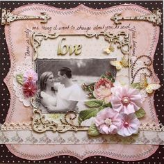 Gabriellep's Gallery: Love **Websters Pages 'In Love' Collection**
