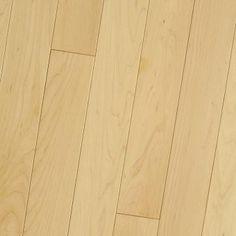 Hard Maple Natural, All White Select: Prime. #HomerWood Premium Hardwood Flooring