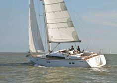 Gunfleet 43 under sail This yacht was at the Boat Show one year, it really is beautifully made inside and out