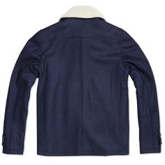 A.P.C. Short Caban Jacket (Marine )