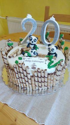 Panda cake, panda torta