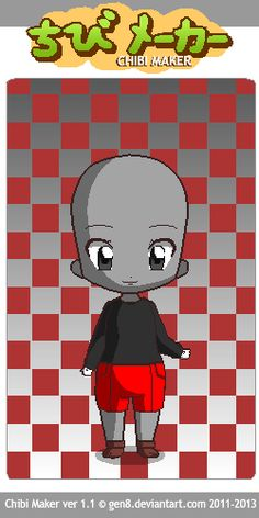 This is Cuphead! I tried my best to make him look like the real one Chibi Maker, Luigi, Fallout Vault, Boys, Fictional Characters, Style, Art, Baby Boys, Swag