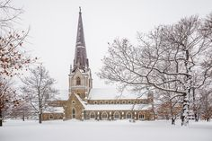 Canada - Located in Fredericton NB is the beautiful Christ Church Cathedral. Weather Network, Canada, New Brunswick, Winter Scenes, Cathedrals, Places To Go, Christ, Photo And Video, Live